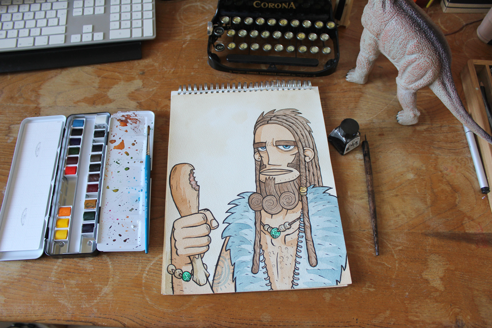 John-Paul-de-Quay-prehistoric-caveman-illustration_3