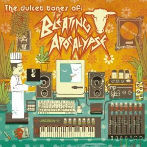 A vintage block colour illustration CD cover